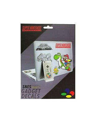 NNTENDO - Super Nes Gadget Decals
