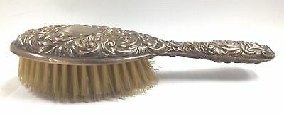Vintage SOLID SILVER Hair Brush Hallmarked 1968 Birmingham - 184g - W58