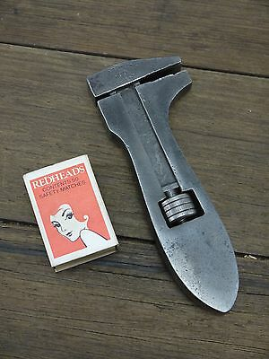 "Rare Vintage HIGHGATE Tool Co. 'G20' 6"" Fish-Bellied Adjustable Wrench Kimberley"