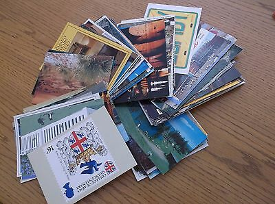 Random Mixed Lot of Miscellaneous Unused Postcards - Sweepstaking, Crafts 100+