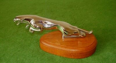 Vintage Original Jaguar Car Mascot Hood Ornament Superb Original Condition