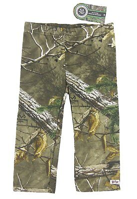 Lil Joey Toddler RealTree Xtra Camo Fleece Pant 2T 3T 4T NWT