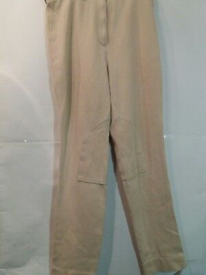 "Adult 30""w 30""l Cream Requisite Horse Hunting Outdoors Riding Jodhpurs -  Uk 14"