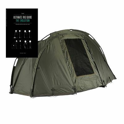 Cyprinus Pleasure Dome Carp Fishing Bivvy Tent Shelter+ 2017 Carpology Rig Guide