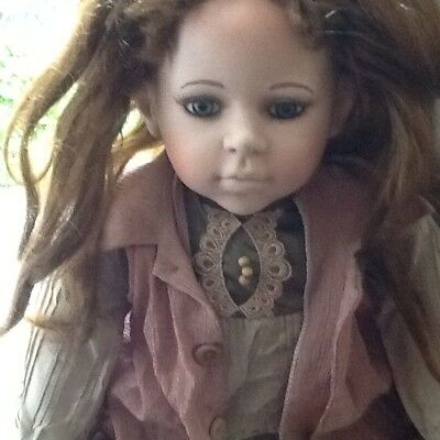 Alberon Doll Porcelain Limited Edition large doll