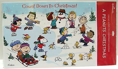 Vintage Peanuts SNOOPY ADVENT CALENDAR - COUNT DOWN TO CHRISTMAS  MIP Never Used