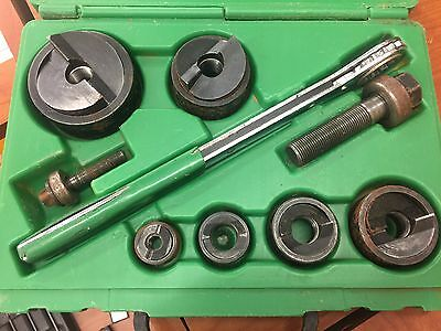 Greenlee SlugBuster Knockout Punch Set #7238B ~ USED