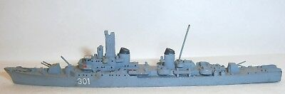 Vintage Superior Models (W.Germany) WWII Italy Indomito Cl Destroyer 1:1250 exc!
