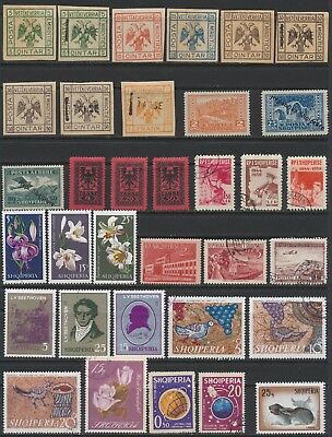 Albanian Stamps - Singles - C.T. O. & Mint - Lot F-23