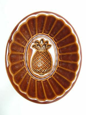 Vintage Ceramic Mold with Pineapple Design