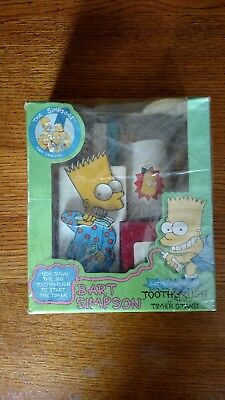 Bart Simpson Battery Operated Toothbrush 1990 Helm Toy