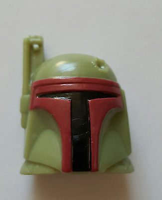 2015 Disney Star Wars Wikkeez Boba Fett Helmet Figure From Europe