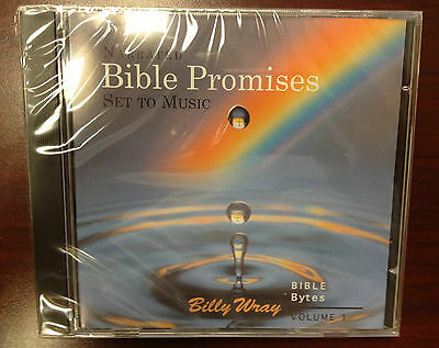 Billy Wray Bible Bytes Verses Narrated Scripture Promises w/Background Music CD