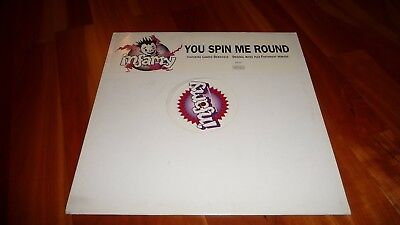 Infamy You Spin Me Round Promo  12'' George Michael 1995