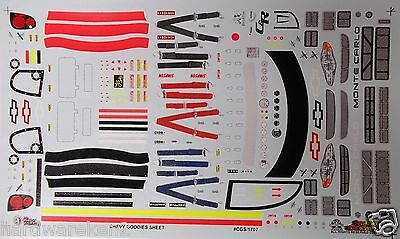 Nascar Decal 2000-2002 Monte Carlo Stock Car Goodies Sheet- Slixx - 45 Items