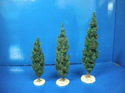 Dept 56 Little Town of Bethlehem Cyprus Trees (3 pieces) #59907 W/ Box