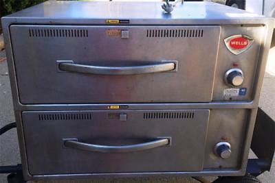 Wells 2 Drawer Nsf Commercial Bread Warmer Free Stand Or Casters ~ Works Great!