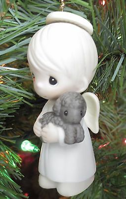 "Precious Moments Porcelain Ornament ""Shepard Of Love"" 102288 Butterfly Mark"