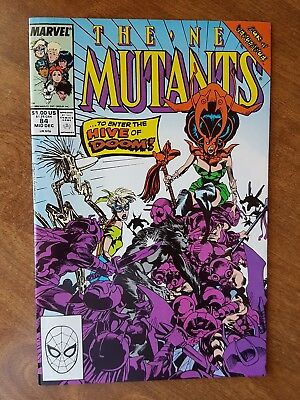 The New Mutants #84 Marvel Dec 89 Nm Combine Shipping