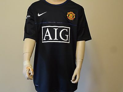Man Utd Official Licensed Training Jersey 08/09 Med Boys New