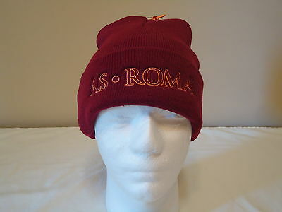 As Roma Official Licensed Beanie Adults New