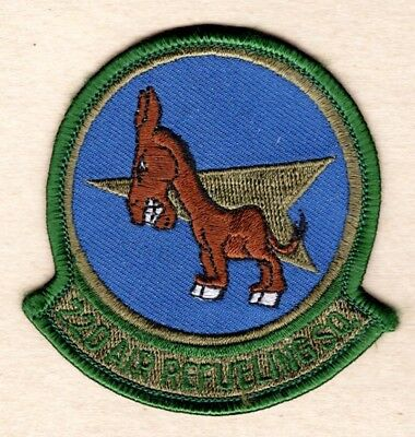 USAF Air Force Patch:  22nd Air Refueling Squadron - subdued