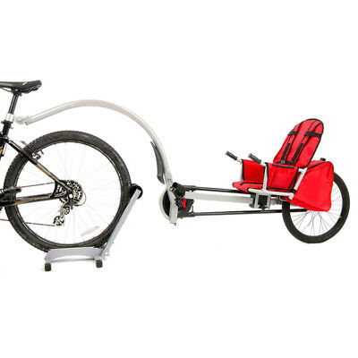 Halfords Bicycle Trailer Bike Jogger Double Buggy Seat For Baby Children New.
