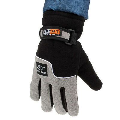 Men Windproof gift Thermal Winter Motorcycle Ski Snow Snowboard Gloves Mitten*