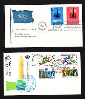 United Nations FDC (#RS15)