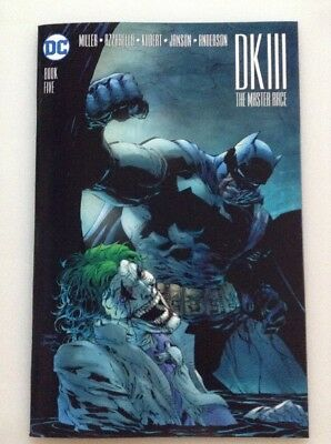Dark Knight Iii The Master Race Bok Five Variant By Jim Lee
