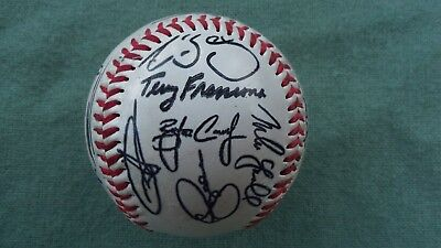 Red Sox  ? Signed Team Baseball Terry Francona Pre-Printed Signatures