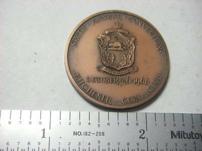 Kitchener / Ontario Numismatic Association medal 1968