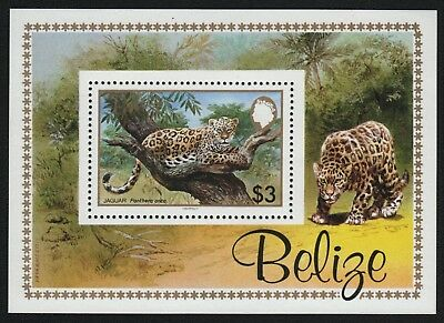 Belize 1983 - Mi-Nr. Block 61 ** - MNH - Jaguar