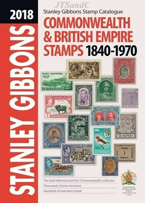 2018 Stanley Gibbons Commonwealth & British Empire Stamps