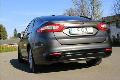 Fox Duplex Performance Exhaust Muffler FORD MONDEO V Hatchback 2.0L 149 KW