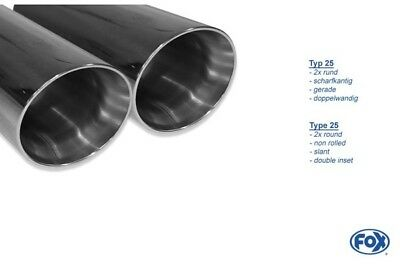 FOX SPORTS EXHAUST MUFFLER MINI COOPER S F55/F56/F57 Centre