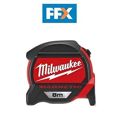 Milwaukee 48227308 8m Magnetic Tape Measure 2nd Generation