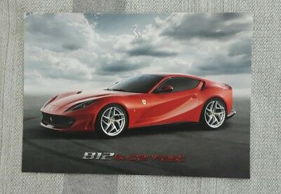 Postcard FERRARI 812 Superfast