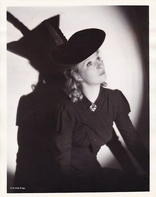 GREER GARSON Beautiful Original Vintage 1939 GOODBYE MR CHIPS MGM Portrait Photo