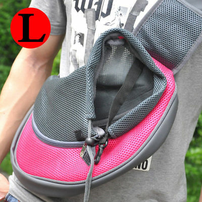 Large Size Comfort Puppy Cat Dog carrier Travel Jogging Pet Shoulder message Bag