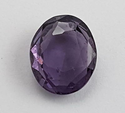 Echter violetter Spinell in Spezifikationsbox ( 6,54 Carat ) 12,2 x 10,2 mm
