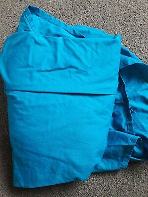 king size fitted sheet in teal
