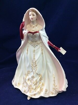Royal Worcester Female Figurine 'First Night At The Opera' In Box No 55 of 4,950