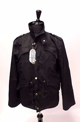 Mens ZICAC Black Drawstring Rain Coat, New with TAGS, UK Size XXL  - N23