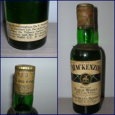 MINIATURA COLLECTION WHISKY MACKENZIE 5 YEARS OLD cc.47 gr.43