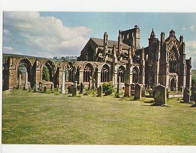 Melrose Abbey 1971 Postcard 0810