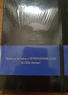 George Michael Symphonica Notebook New Sealed Wham RARE