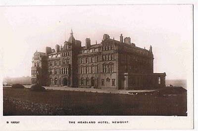 CORNWALL - R/P - THE HEADLAND HOTEL, NEWQUAY, c1910