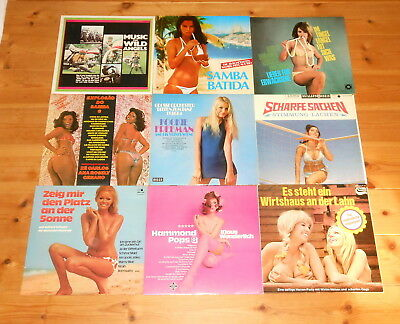 Sexy Covers – SAMMLUNG 3 – 18 LPs + Maxis – Cheesecake