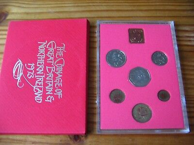 1973 Proof Set Of Decimal Coinage Of Great Britain & Northern Ireland L1